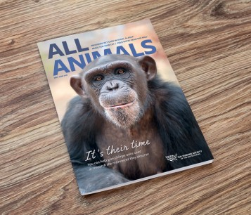 All Animals magazine May/June cover