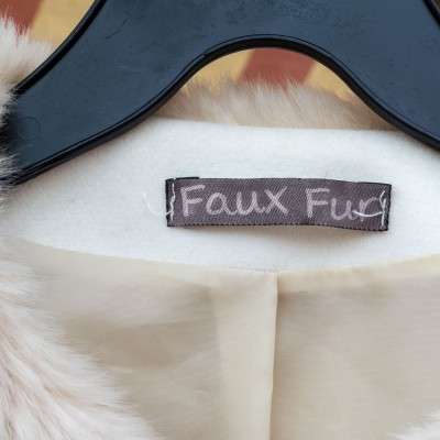faux fur label assures animals such as raccoon dogs were not killed to make clothing