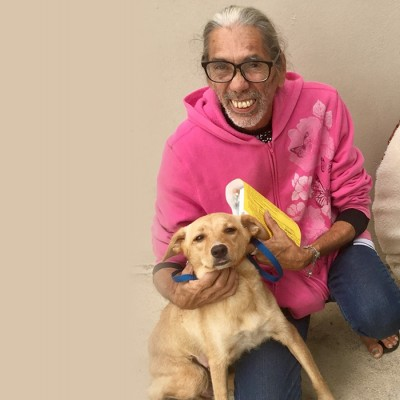 Luis and Milagros at Spayathon
